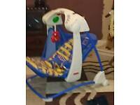 Fisher price swinging musical chair