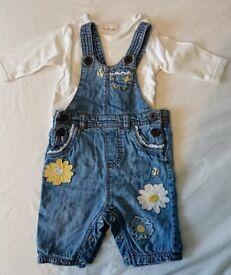 Baby girls clothing bundle 7.5lbs-14lbs Next, Mothercare, Jasper Conran