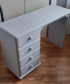 DRESSER / DESK with FOUR DRAWERS