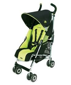 Maclaren Quest Sport stroller / pram / buggy Green and Black