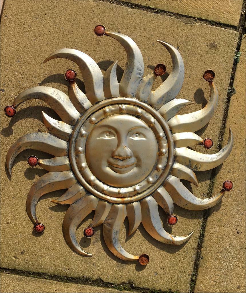 Sun Garden Wall Decoration Ornament