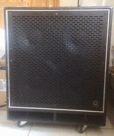 BUGERA BN410TS TURBOSOUND 4X10 BASS CABINET 8 OHM 700W CONTINUOUS 2800W PEAK