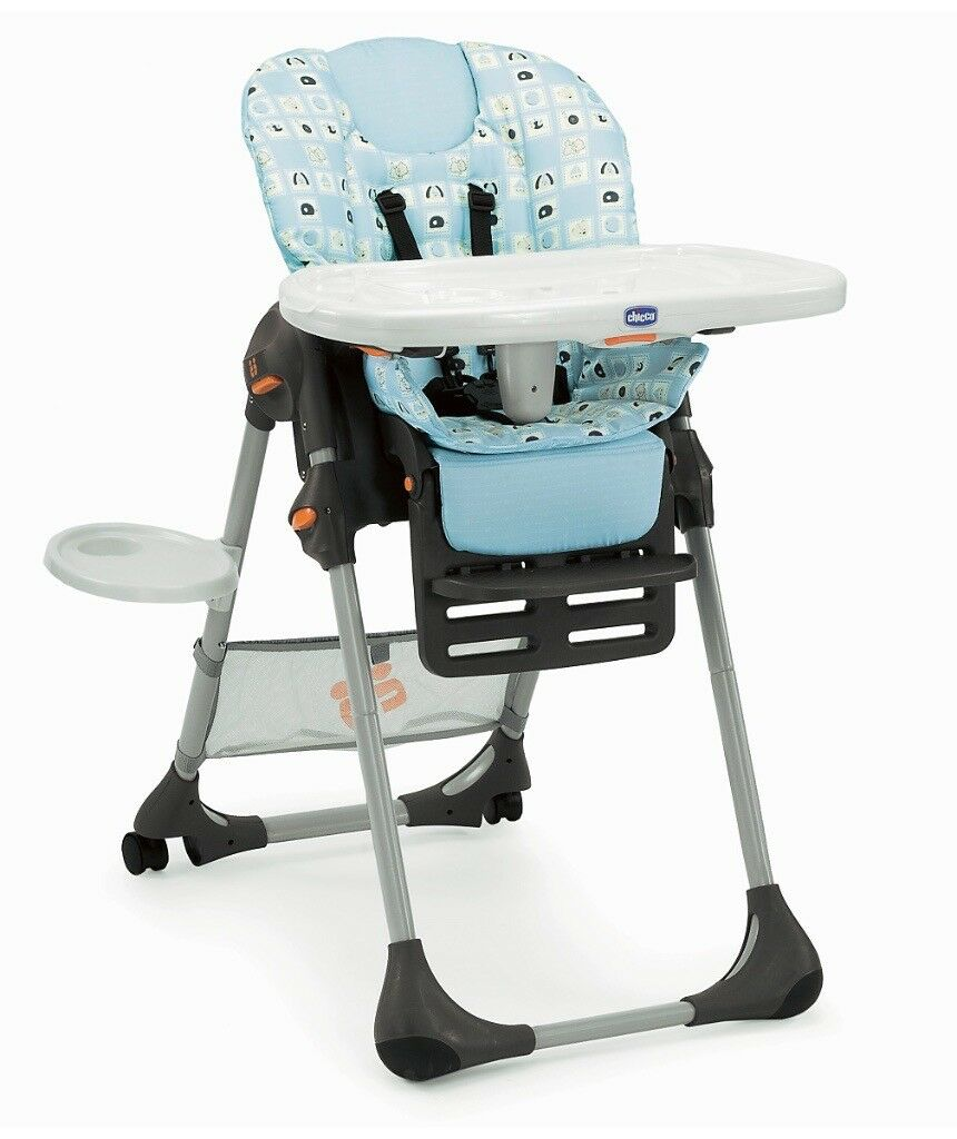 Baby High Chair - Chiocco Polly RPP £89 - NOW £15