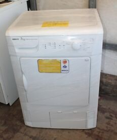 FREE DELIVERY Beko 7KG condenser tumble dryer WARRANTY