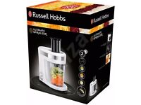 RUSSELL HOBBS ULTIMATE SPIRALIZER. BRAND NEW BOXED