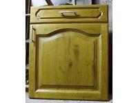 Solid oak, kitchen, cupboard door