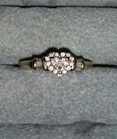 fine white gold engagment ring