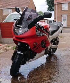 motorbike £1250 yzf600