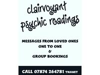 Clairvoyant readings psychic