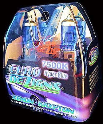 Cool Blue/White H4 Xenon Headlights 2004-2011 Chevrolet Aveo