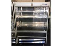 Display fridge Williams stainless steel 120cm