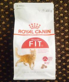 Dry cat biscuit 400g bag