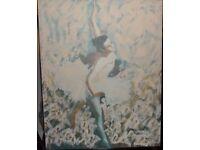 Large Ballerina Canvas