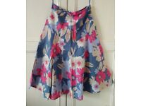 MONSOON ladies Size 8 lovely MIDI skirt- BRAND NEW WITH TAGS. RRP £50!