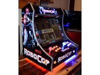 Custom 'Robocop' Bartop Arcade Machine (Jamma 650 Arcade Games)
