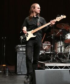 Pro Bass Player available (for remote recording too)