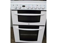 Indesit electric oven, grill and hob cooker