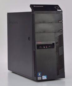 WINDOWS 7 LENOVO A58 PC - THINKCENTRE DUAL CORE COMPUTER TOWER - 4GB RAM - 320GB