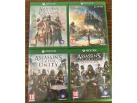 Xbox one Assassins Creed games