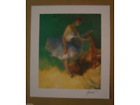 HUA CHEN - BALLERINA PRINT 'Complete with 'Certificate of Authenticity'