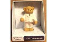 CHERISHED TEDDY ~ FIRST COMMUNION