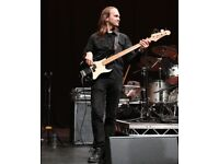 Pro Bass Player available (for remote recording too!)