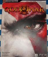 God Of War III - Brady Games S.S. PLAYER'S GUIDE *NEW* *$5*