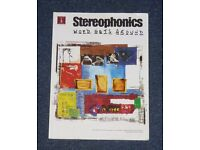 Stereophonics Word Gets Around Sheet Music Book