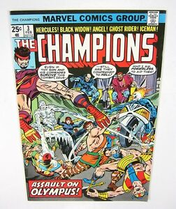Champions-3-Signed-by-Tony-Isabella-COA-VF-NM-1st-PRINT-MARVEL-COMICS-1976