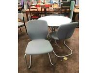 Grey Canter Leaver Chair