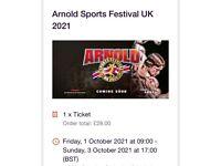 Arnold sports festival @ NEC