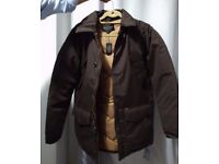 Obey winter coat. Brown. Size M. Never used. Still with labels.