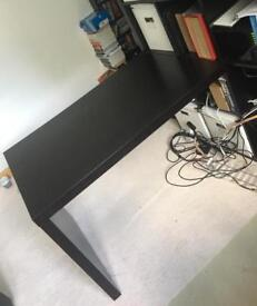 Free Ikea desk (adds on to Kallax book shelves)