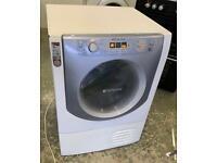 HOTPOINT Aqualtis 9kg condenser dryer £150 good condition
