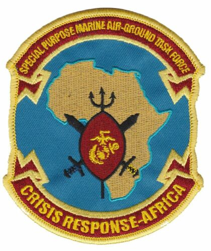 USMC SPMAGTF- Crisis Response Africa Patch NEW!!!