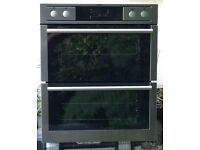 AEG Double Oven Built-under Counter, Stainless Steel, Catalytic Lining