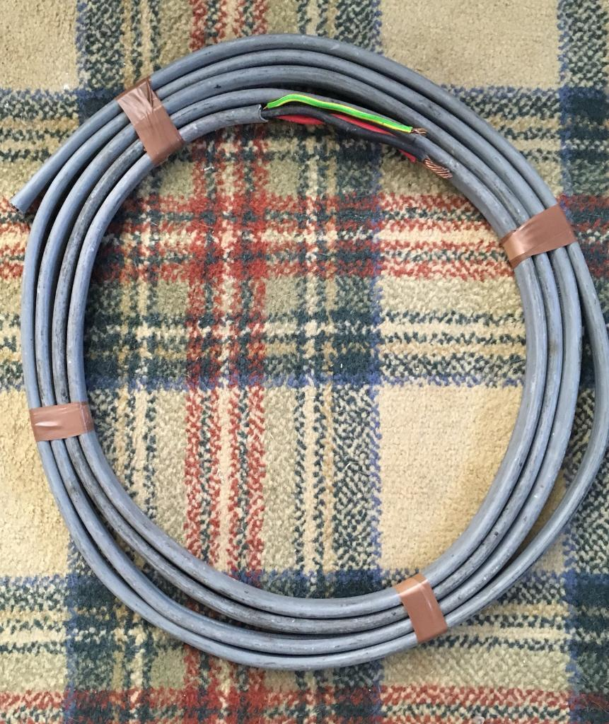10mm Electric Cooker Shower Cable Wire In Greenisland County Wiring A