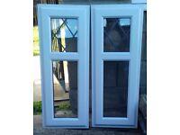 UPVC Double-Glazed Windows x 2