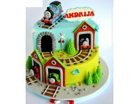 Birthday Cakes, Wedding Cakes, Novelty Cakes & Bespoke Cakes. From £80 Call Today 07903 639800