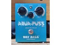 Way Huge Aqua Puss WHE701 - Analog Delay Pedal