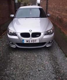 BMW 520D**M SPORT**PRIVATE PLATE**REMAPPED**2 KEYS**HPI CLEAR**FSH**