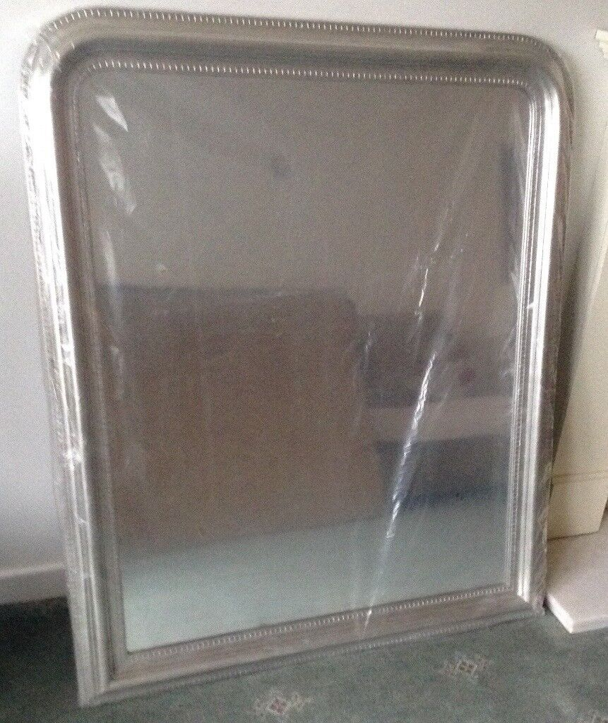 BRAND NEW Large Overmantle Mirror