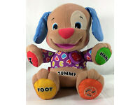 FISHER PRICE LAUGH & LEARN SMART STAGES PUPPY, LOVE TO PLAY INTERACTIVE TOY