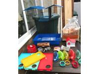 Hamster Cage deluxe Kensington Palace modrl