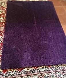 Plum/purple rug