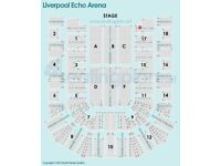 Pair of Kasabian tickets - Liverpool Echo Arena. 5th Dec 2017 - 7:30pm.