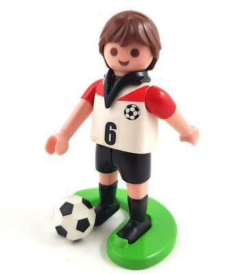 FOOTBALL PLAYER with STAND & BALL / Footballer Soccer Sport Figure #2 Playmobil