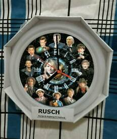 Wall clock Dr who theme