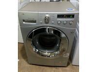LG Direct Drive 8kg Washing Machine silver