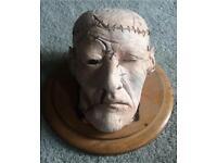 Professionally Hand-Made Halloween Horror Prop - Severed Head
